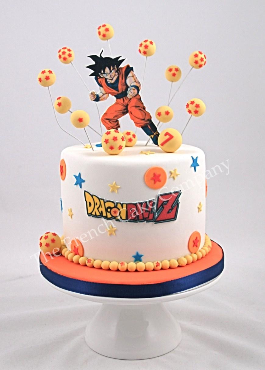 Dragon Ball Z Birthday Cake Dragonball Cake Gteau Dragonball Baking Stuff Pinterest