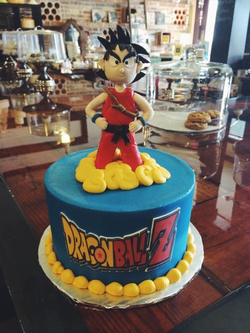 Dragon Ball Z Birthday Cake Gallant Edible Cakes Plus Dolphin Cake Complete To Grande Motocross