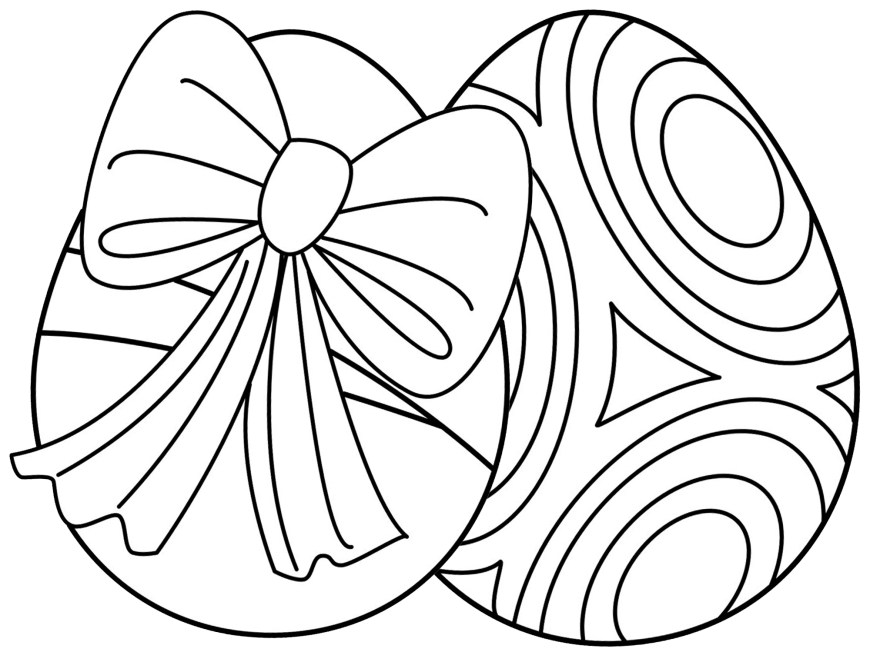 Easter Basket Coloring Pages 7 Places For Free Printable Easter Egg Coloring Pages