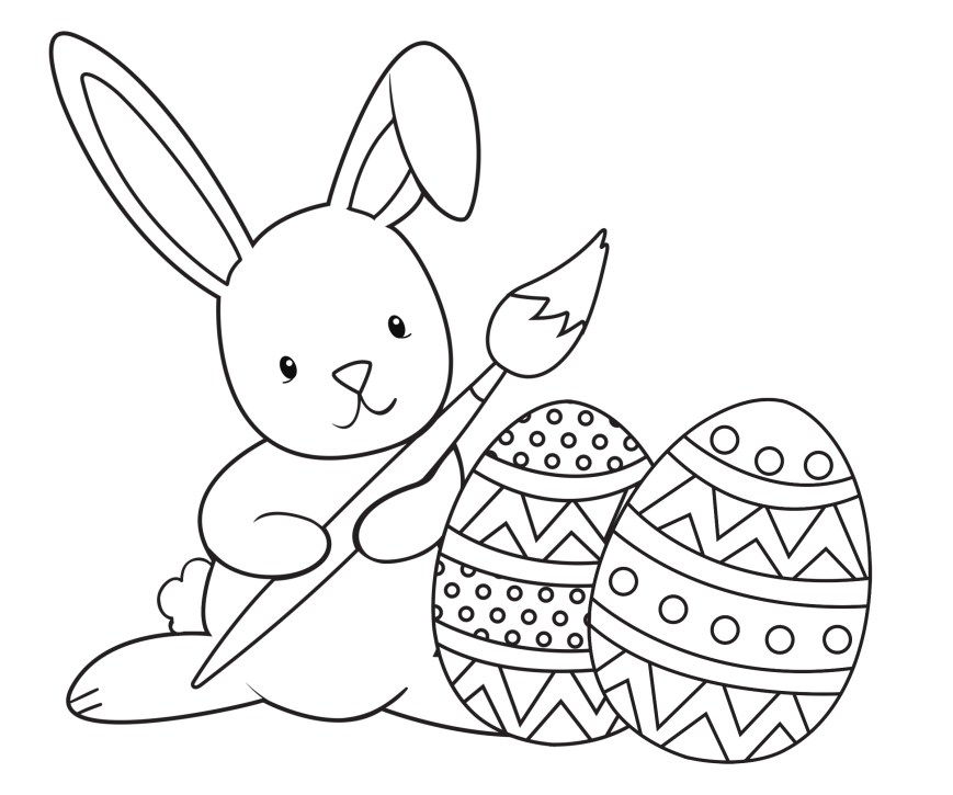 Easter Coloring Pages For Kids Coloring Page Easter Coloring Pages For Adults