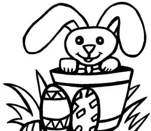 Easter Coloring Pages For Kids Coloring Sheets For Toddlers With Color Print Page Also