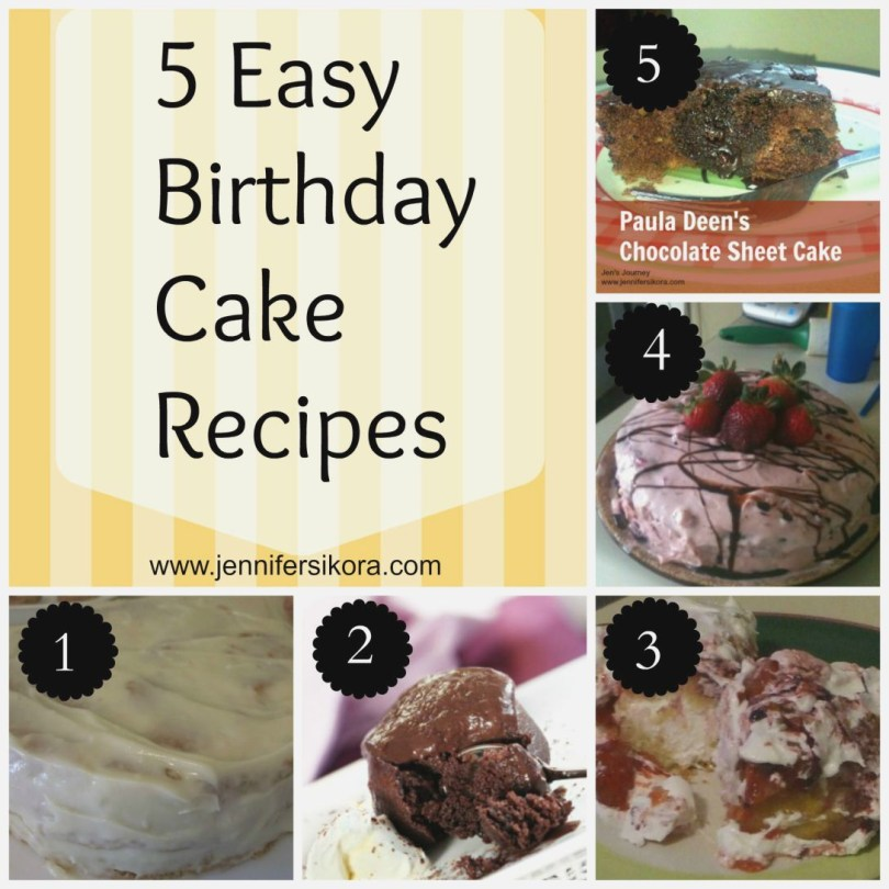 Easy Birthday Cake Recipes Easy Birthday Cake Recipes Colorfulbirthdaycakesga