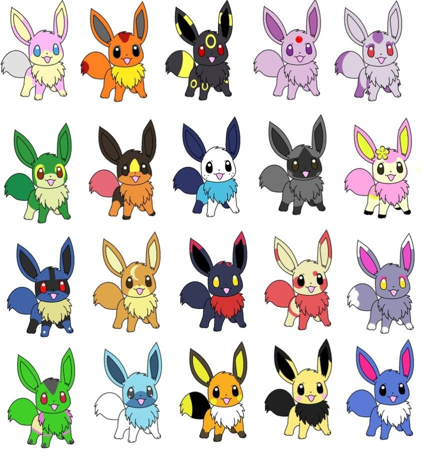 Eevee Evolutions Coloring Pages Coloring Pages Excelent Eevee Evolutionsoring Pages Photo