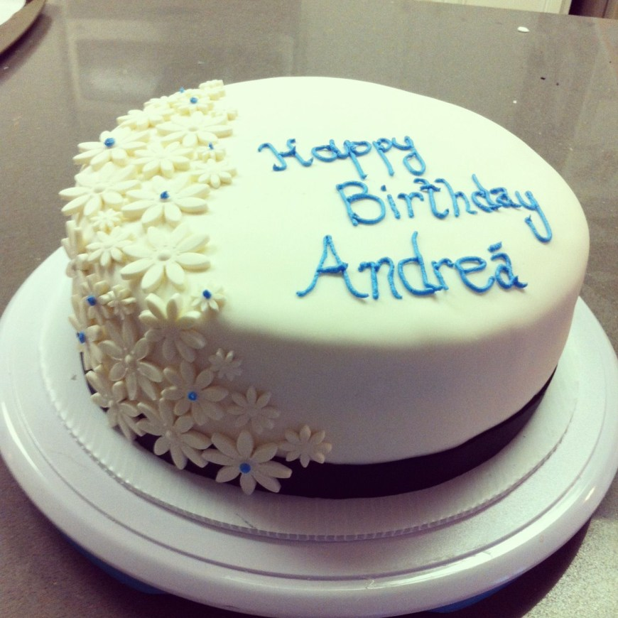 Elegant Birthday Cake Images Simple Elegant Birthday Cake White Cake With Vanilla Buttercream