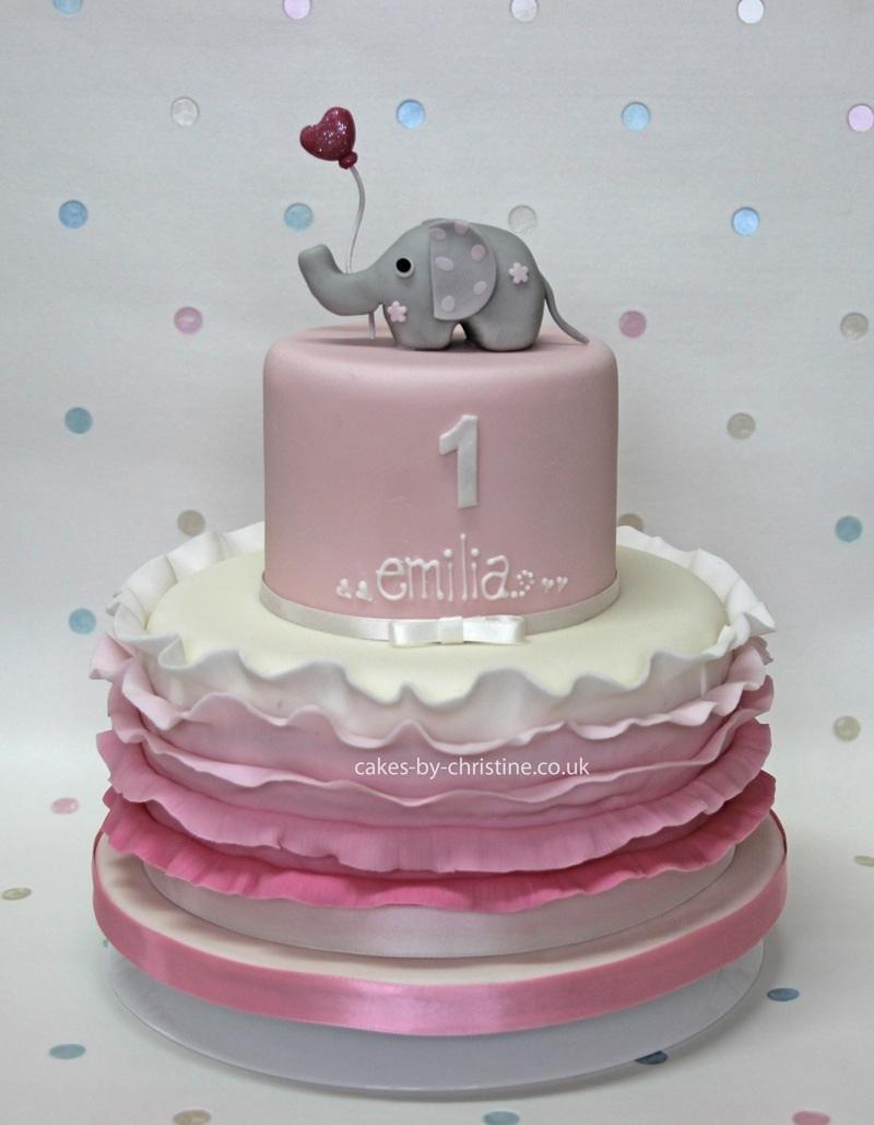 32 Elegant Picture Of Elephant Birthday Cake Davemelillo Com