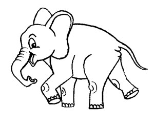 Elephant Coloring Pages Elephant And Piggie Coloring Pages Printable Kids Colouring Pages