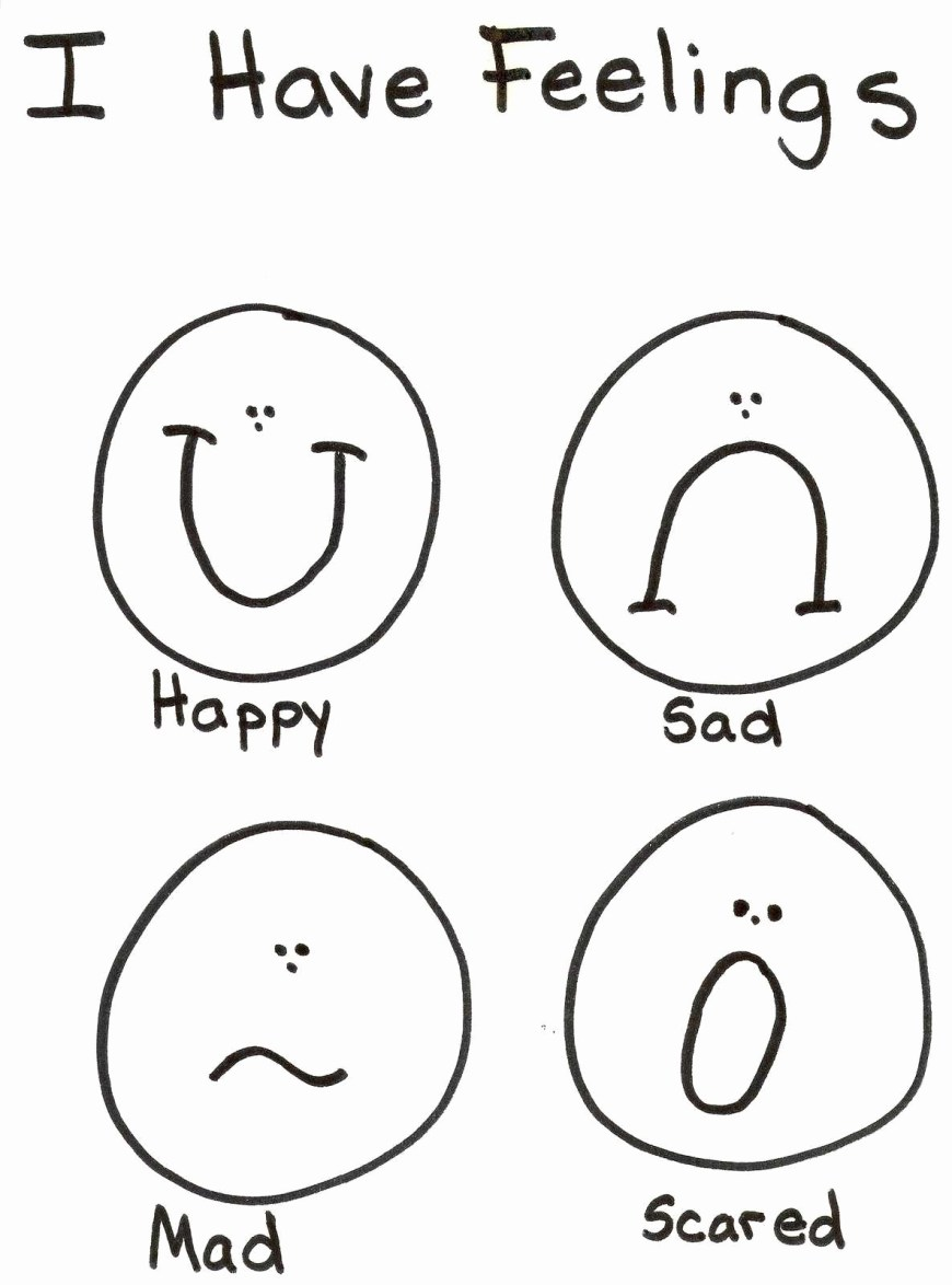 Emotions Coloring Pages Emotions Coloring Pages Coloring Pages Template