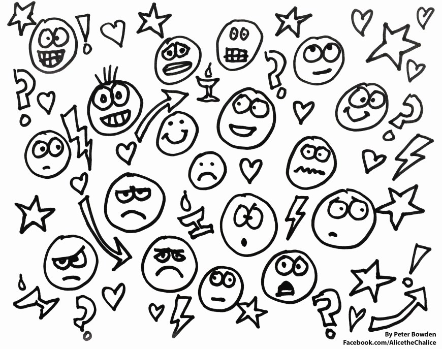 Emotions Coloring Pages Emotions Coloring Sheets Free