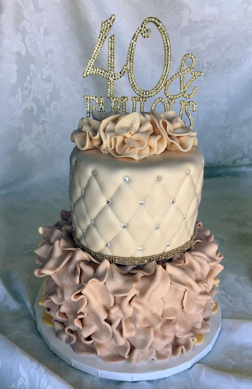 Fabulous Birthday Cakes 40 And Fabulous Birthday Cake Story Cakes Pinterest Cake Cake