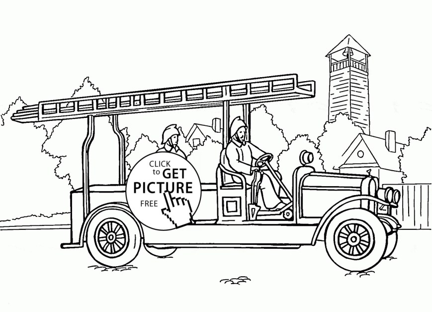Fire Truck Coloring Page Coloring Pages Outstanding Fire Truckring Book Image Inspirations