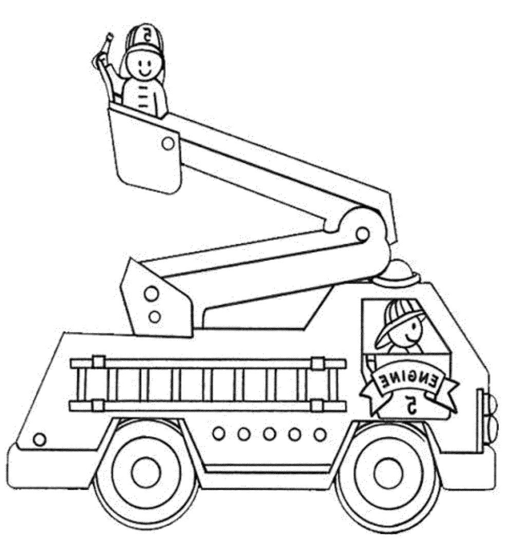Fire Truck Coloring Page Fire Trucks Coloring Pages Library Truck
