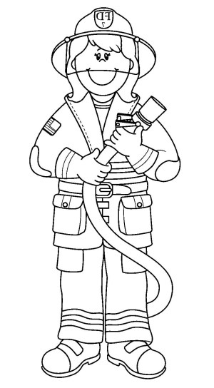 Fireman Coloring Pages Firefighter Coloring Pages J3kp Printable Fireman Coloring Pages