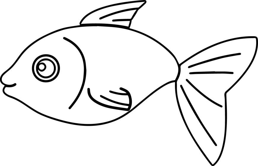 Fish Coloring Pages Coloring Page Splendi Fish Colorings Angel Printable Coloringstar