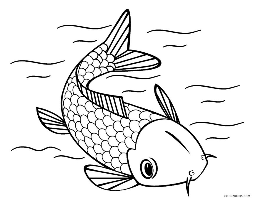 Fish Coloring Pages Free Printable Fish Coloring Pages For Kids Cool2bkids