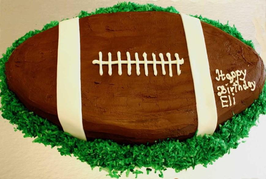 Football Birthday Cake Everyday Finesse Gluten Free Football Birthday Cake
