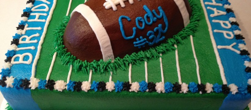 Football Birthday Cake Football Birthday Cake Cheeky Cakes Football Birthday Cake