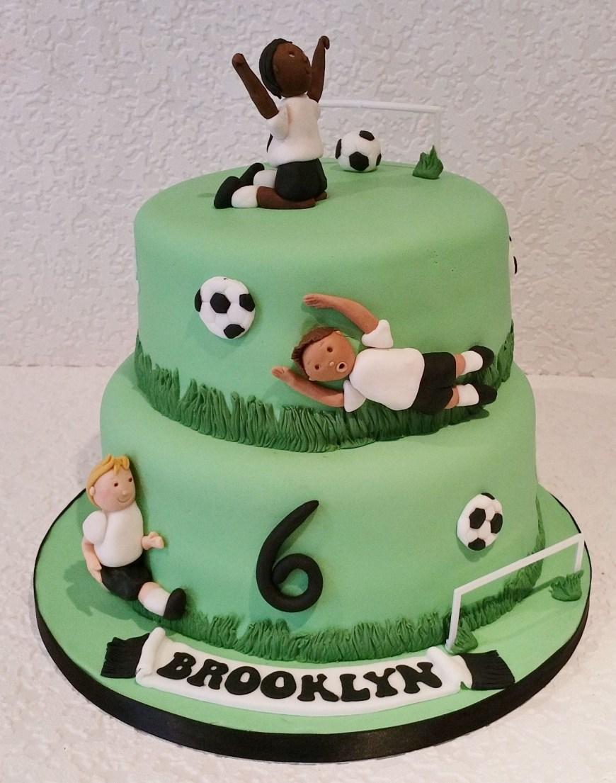 Football Birthday Cake Football Themed Cake Baking Angel Soccer Cakes Cupcakes