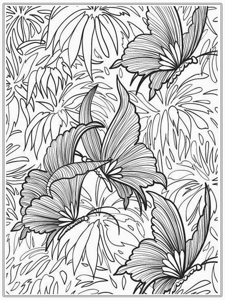Free Coloring Pages Adults Free Coloring Pages Of Sea Butterfly Coloring Pages Adults