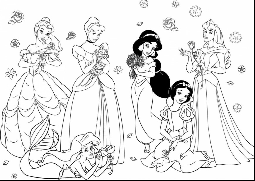 Free Coloring Pages For Girls Free Coloring Pages For Girls Princess At Getdrawings Free For