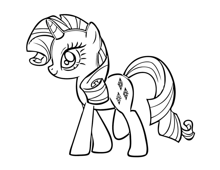 Free Coloring Pages To Print Free Printable My Little Pony Coloring Pages For Kids