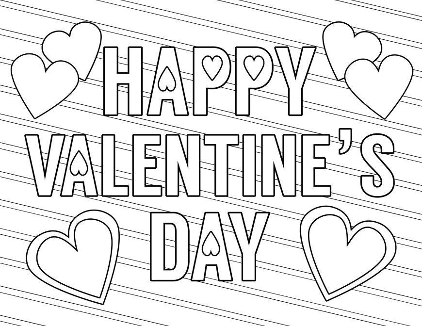 Free Printable Valentine Coloring Pages Coloring Page Remarkable Printable Valentine Coloring Pages