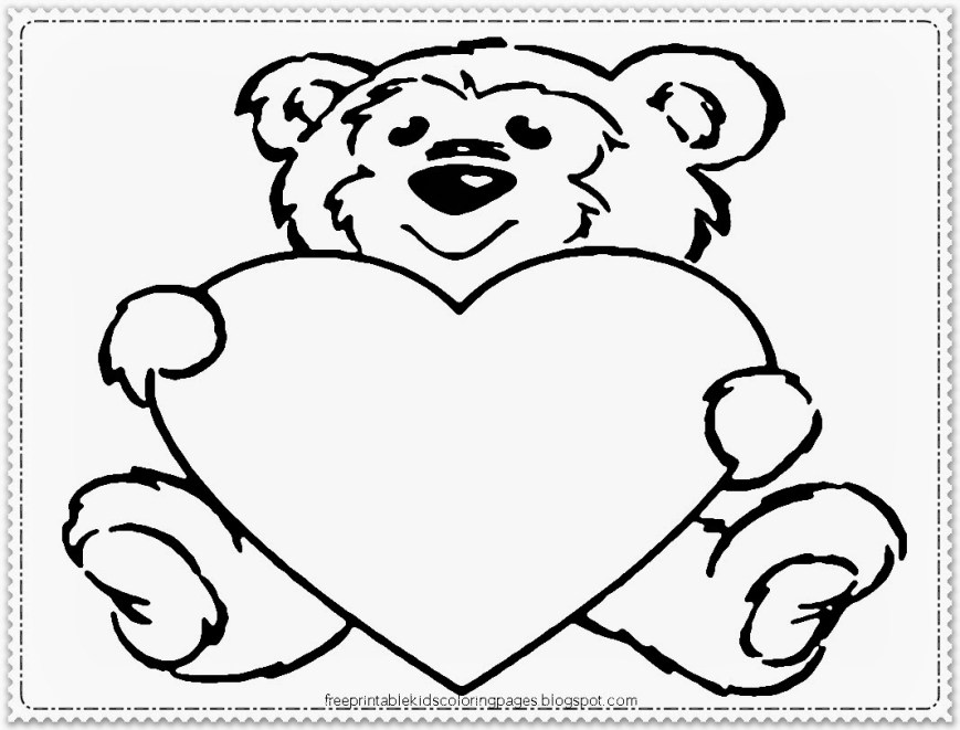 Free Printable Valentine Coloring Pages Valentine Coloring Pages Disney Printable Coloring Page For Kids