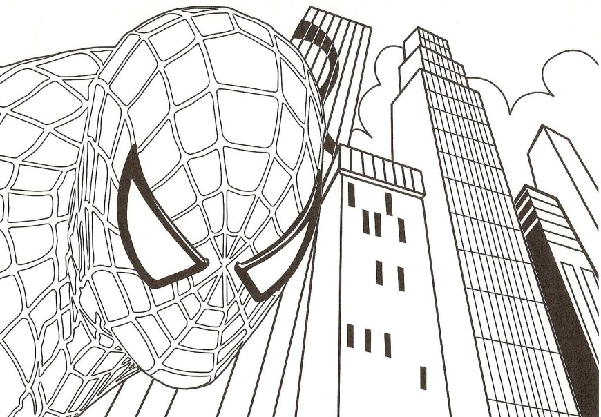 Free Spiderman Coloring Pages Spider Man Coloring Pages Free Printable Spiderman Coloring Pages