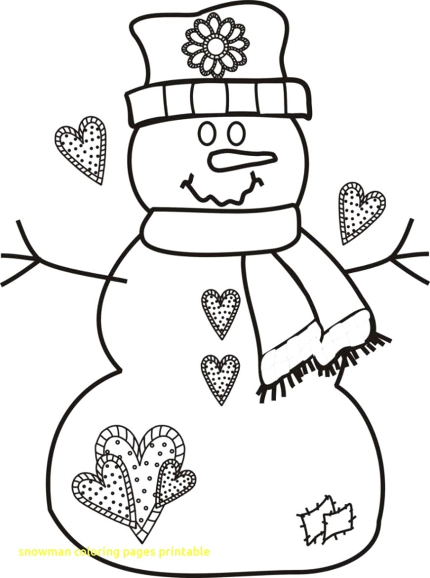 Frosty The Snowman Coloring Pages Christmas Snowman Coloring Pages New Frosty The Example Pdf A7m Of