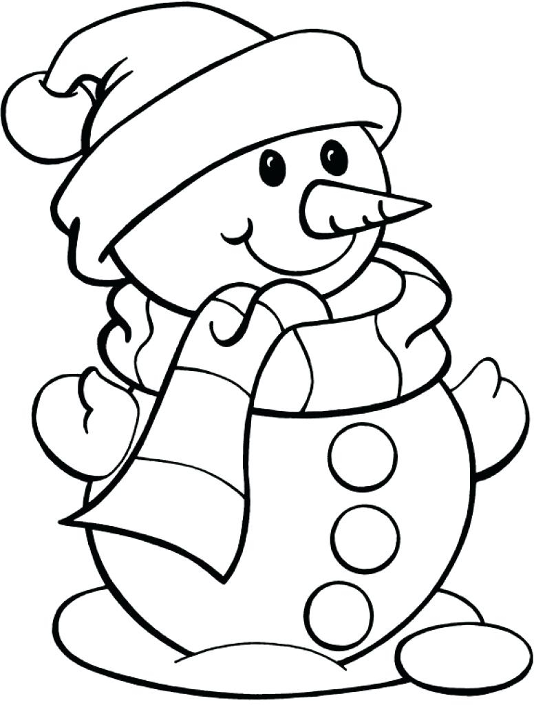 Frosty The Snowman Coloring Pages Snowman Coloring Pages Free Download Best Snowman Coloring Pages