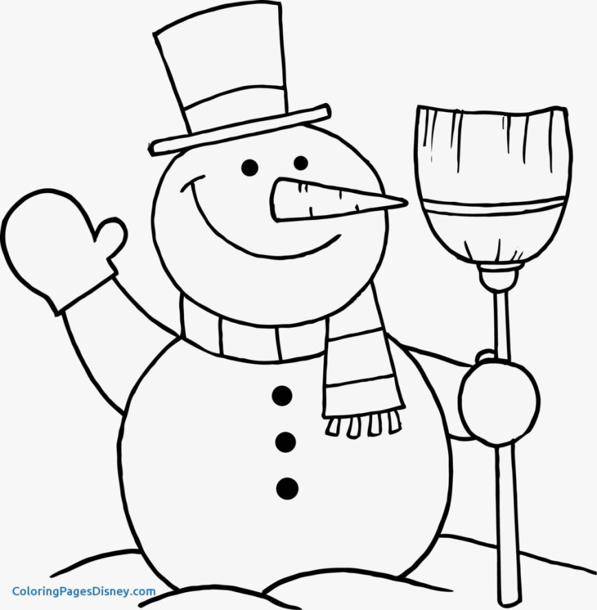 Frosty The Snowman Coloring Pages Snowmen Coloring Pages Valid Frosty The Snowman Coloring Pages