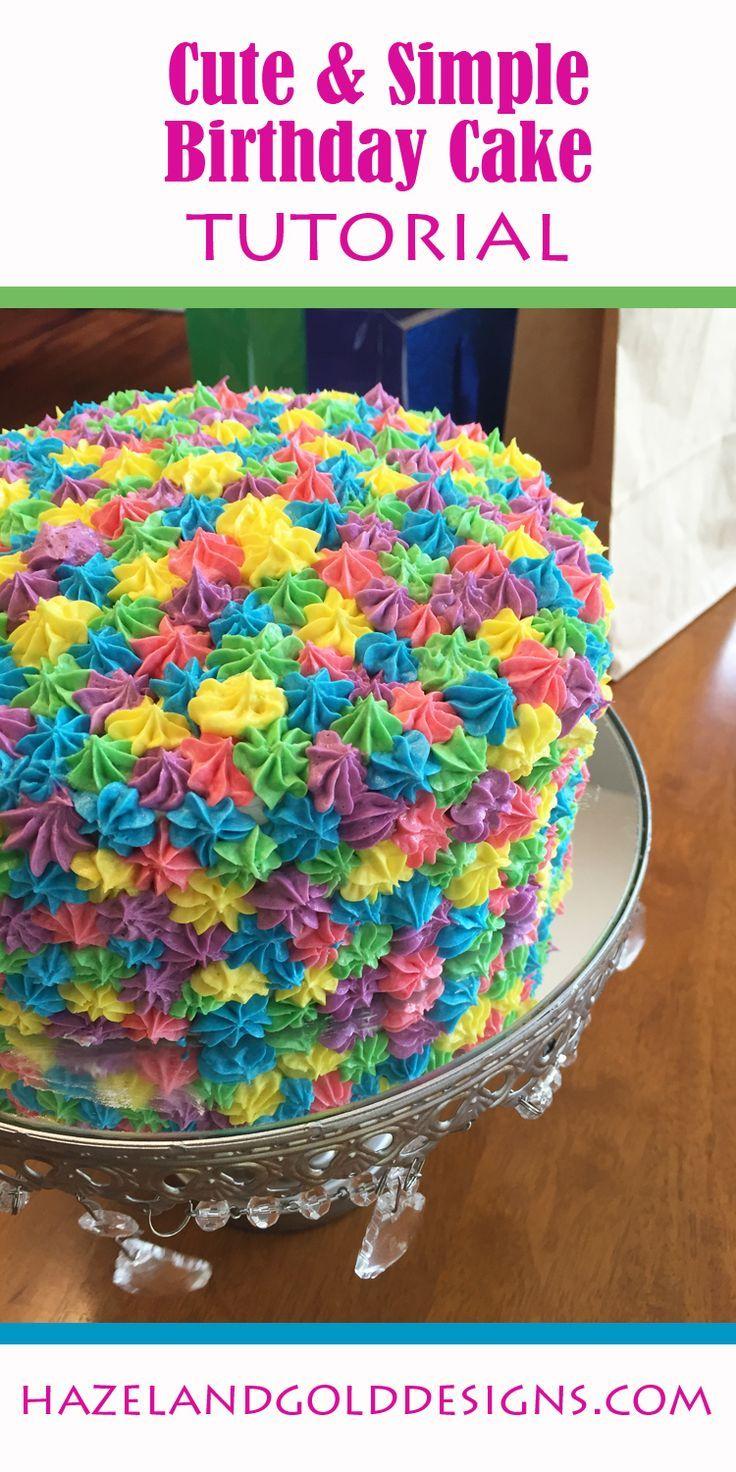 Fun Birthday Cakes Rainbow Birthday Cake Food Sweets Cakes Pinterest Birthday