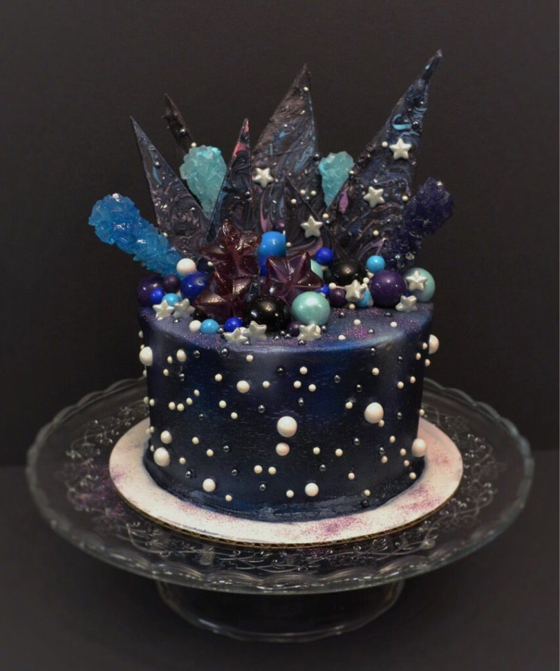 Galaxy Birthday Cake Galaxy Cake Galaxia Party Pinterest Galaxy Cake Cake And