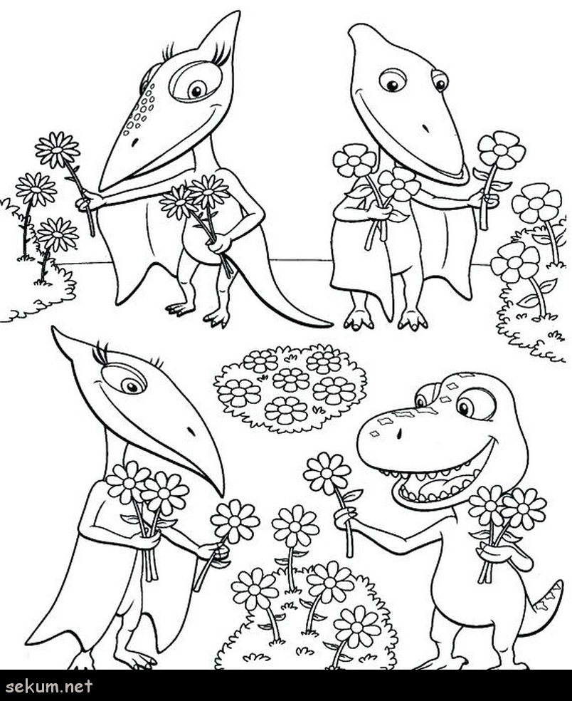 Giant Coloring Pages Giant Coloring Page Dinosaur Train Coloring Pages Dinosaur Train