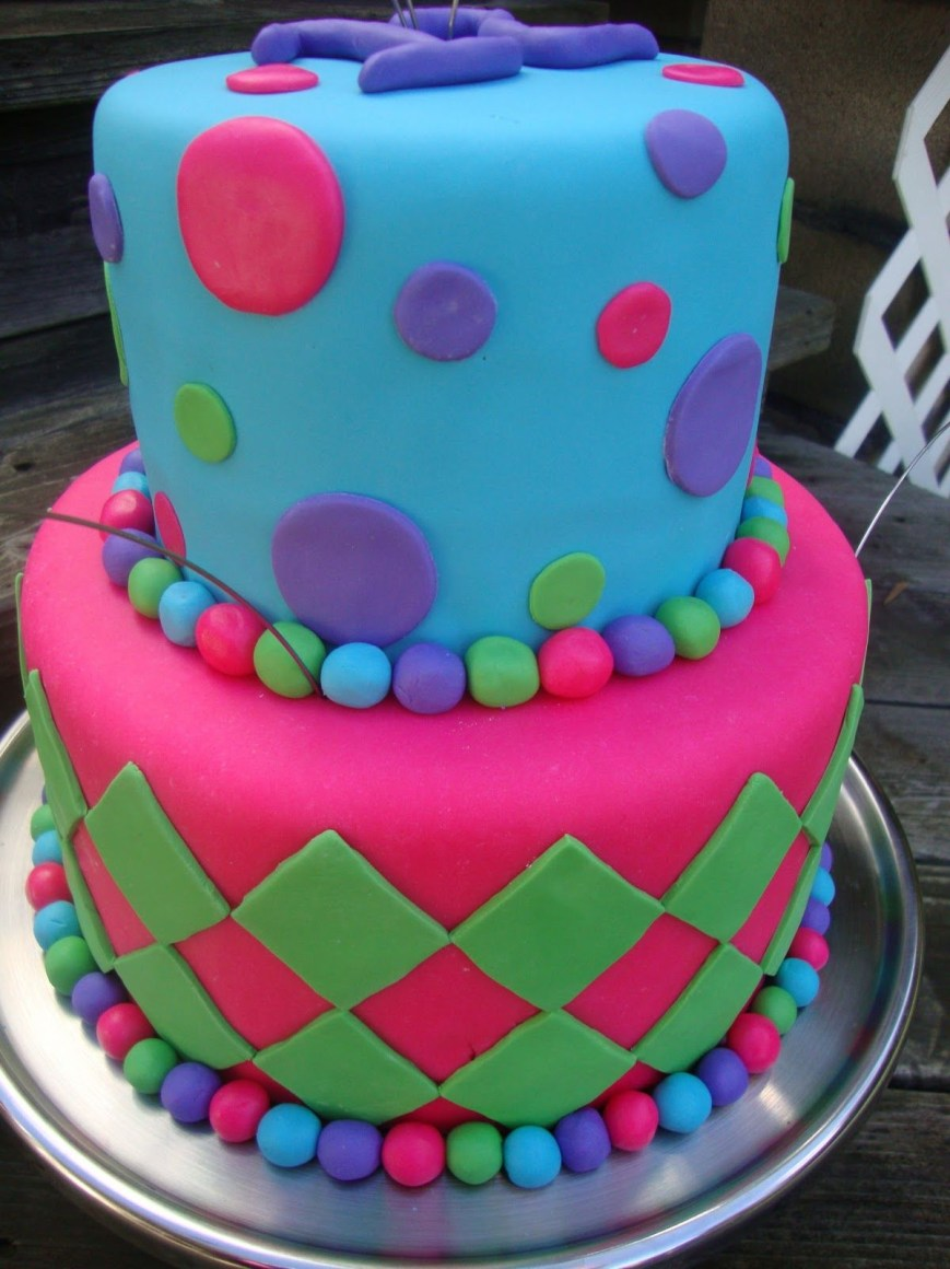Girl Birthday Cake Ideas Cool Birthday Cake Made This Cake For A 12 Year Old Girls Birthday