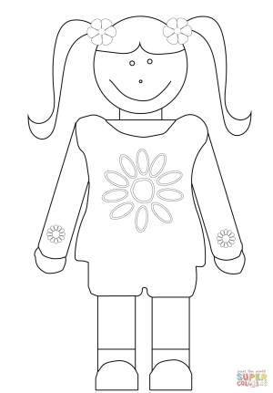 Girl Scout Coloring Pages Daisy Girl Scout Coloring Page With Daisy Girl Scout Coloring Pages