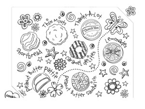 Girl Scout Coloring Pages Junior Girl Scout Coloring Pages 175 Lineart Super Coloring Page