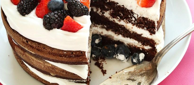 Gluten Free Birthday Cakes Gluten Free Birthday Cake Minimalist Baker Recipes