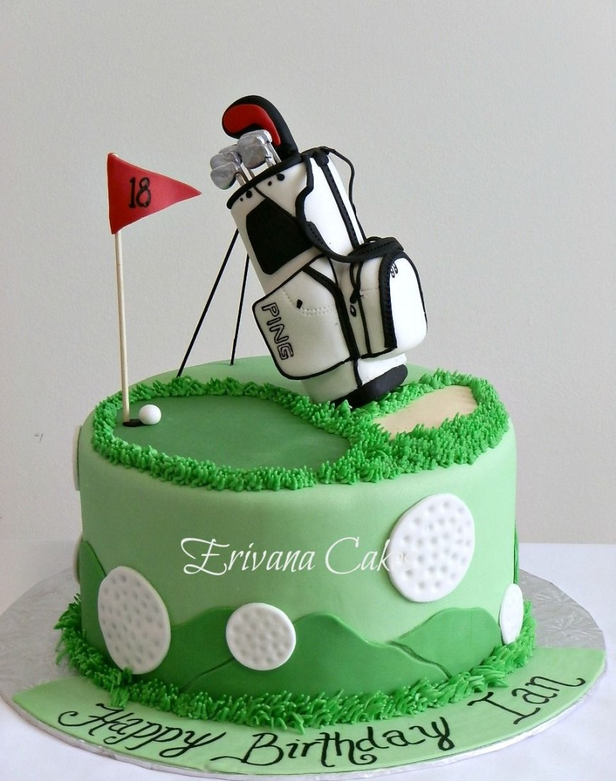 Golf Birthday Cakes Cake Decoration Golf Google Search Adults Cake Decoration