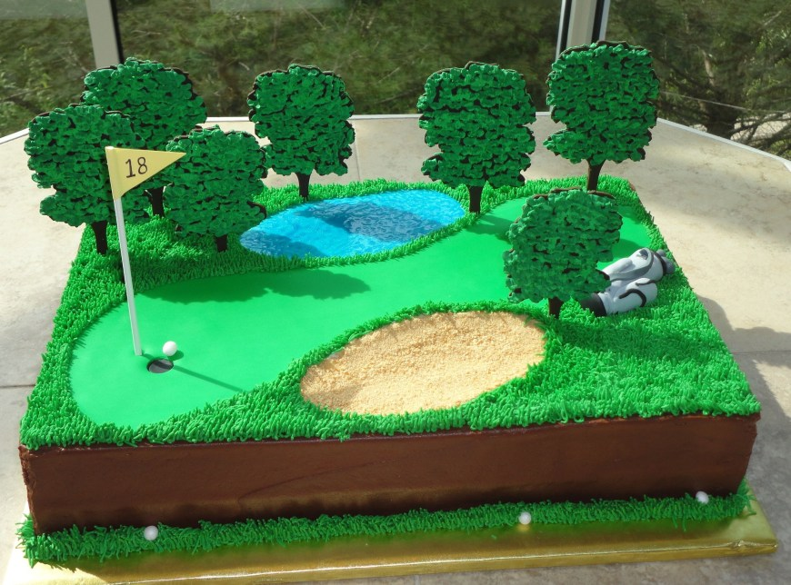 Golf Birthday Cakes Golf Cake Sweet Expressions Selina Groom Cakes Cake