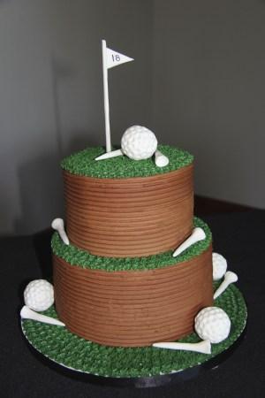 Golf Birthday Cakes Golf Grooms Cake Wedding Crafts Pinterest Cake Birthday Cake