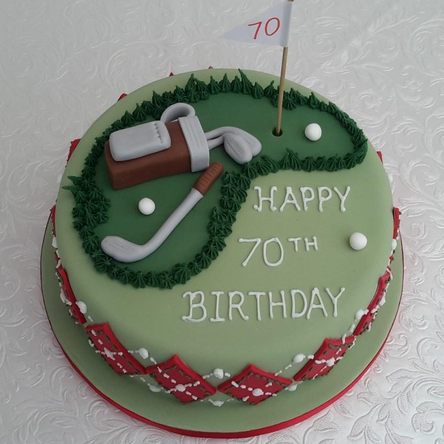 Golf Birthday Cakes Other Birthday Cakes Cakeskit