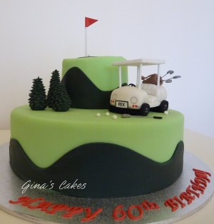 Golf Birthday Cakes Top That Golf Birthday Cake
