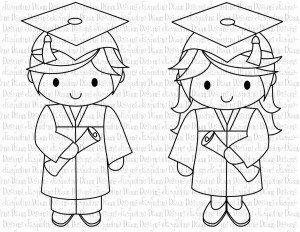 Graduation Coloring Pages Graduation Coloring Pages Doodle Art Alley And Bitslice