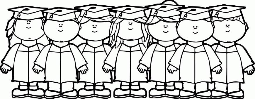Graduation Coloring Pages Graduation Coloring Pages To Print Color Bros