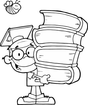 Graduation Coloring Pages Graduation Coloring Pages