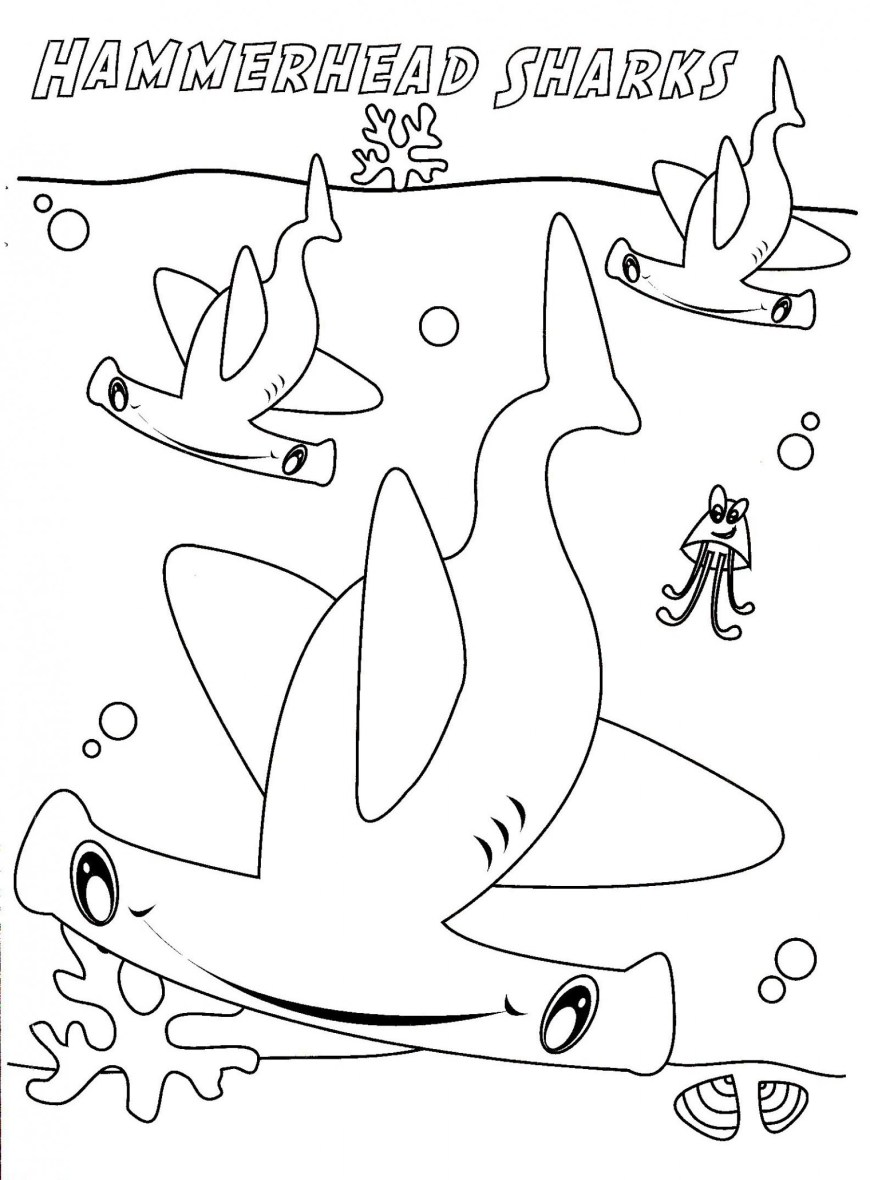 Great White Shark Coloring Pages Shark Coloring Pages Sharks Coloring Pages Great White Shark