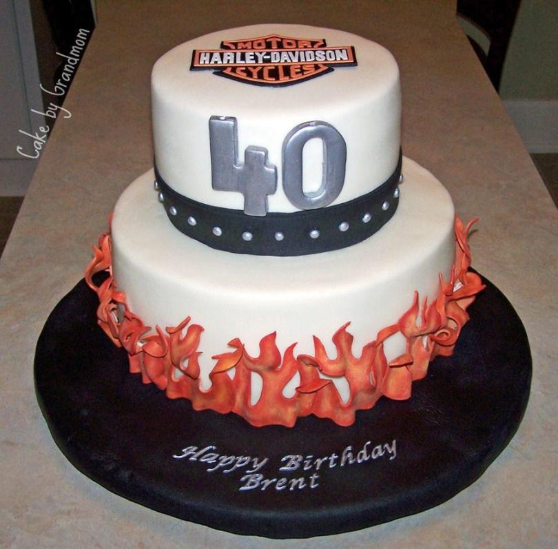 Happy Birthday Cake For Men 40th Birthday Cake Ideas And Recipes For Men Protoblogr Design