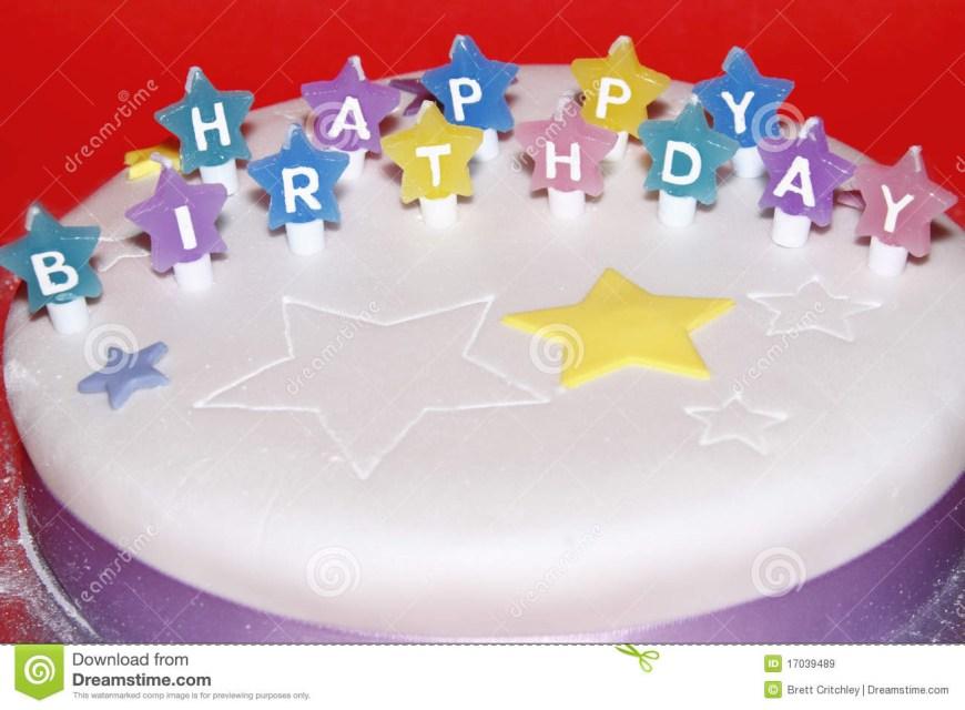 Happy Birthday Cake Images Happy Birthday Cake Stock Image Image Of Colour Wish 17039489
