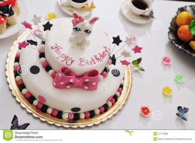 Happy Birthday Cake Images Happy Birthday Cake Stock Image Image Of Decor Decorated 47174983