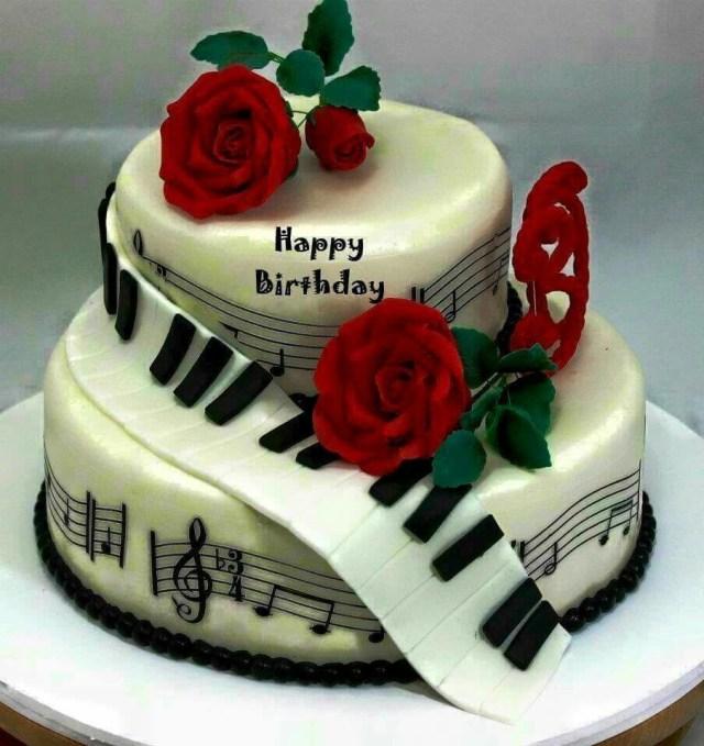 Happy Birthday Cake Images Happy Birthday Music Cake Sona Pinte
